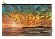 Wild Hearted Sun - Santa Cruz Carry-all Pouch by Joel Tesch