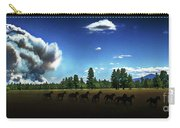 Wild Horse Fire Carry-all Pouch
