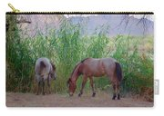 Wild Horses At Twilight Carry-all Pouch