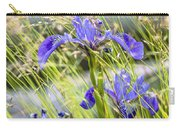 Wild Irises Carry-all Pouch by Marty Saccone