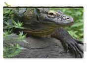 Wild Komodo Dragon Crawling Through Nature Carry-all Pouch