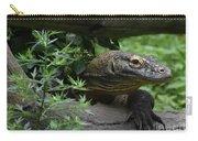 Wild Komodo Dragon Creeping Through Fallen Trees Carry-all Pouch