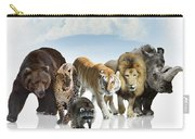Wild Mammals Carry-all Pouch