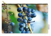 Wild Michigan Grapes Carry-all Pouch