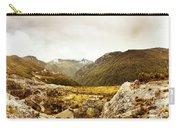 Wild Mountain Terrain Carry-all Pouch