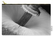 Wild Mushroom- B And W Carry-all Pouch