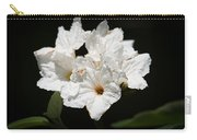 Wild Olive Tree Bloom Carry-all Pouch