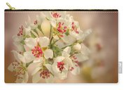 Wild Pear Blossom Carry-all Pouch