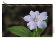 Wild Petunia Carry-all Pouch