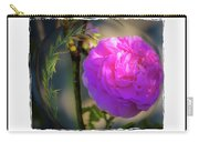 Wild Pink Rose Carry-all Pouch