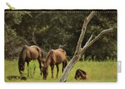 Wild Ponies In Corolla Carry-all Pouch