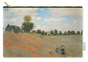 Wild Poppies Near Argenteuil Carry-all Pouch