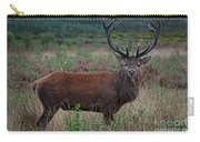 Wild Red Deer Stag Carry-all Pouch