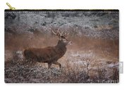 Wild Winter Stag Carry-all Pouch