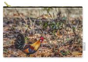 Wild Red Junglefowl Gallus Gallus Kanha National Park India Carry-all Pouch