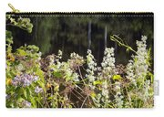 Wild Riverside Weeds And Flowers Carry-all Pouch