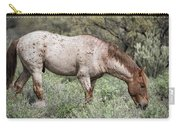 Wild Roan Stallion  Carry-all Pouch