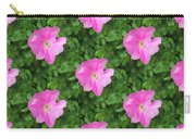 Wild Rose Pattern Carry-all Pouch
