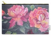 Wild Roses Carry-all Pouch