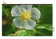 Wild Strawberry Flower Carry-all Pouch