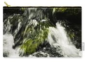 Wild Stream Of Green Moss Carry-all Pouch