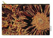 Wild Sunflower Abstract Carry-all Pouch