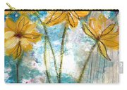 Wild Sunflowers- Art By Linda Woods Carry-all Pouch