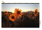 Wild Sunflowers Of Buena Vista Carry-all Pouch