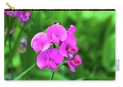 Wild Sweet Pea Carry-all Pouch