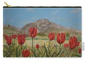 Wild Tulips In Central Crete Carry-all Pouch