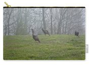 Wild Turkey Grazing At Dawn Carry-all Pouch