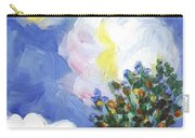 Wild Vineyard Quadriptych Part One Carry-all Pouch