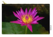Wild Water Lily Carry-all Pouch