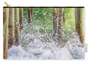 Wild Waves Under The Boardwalk Carry-all Pouch