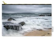 Wild Weather At Geodha Mhartainn On The Isle Of Harris Carry-all Pouch