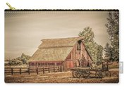 Wild West Barn And Hay Wagon Carry-all Pouch