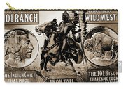 Wild West Poster Carry-all Pouch