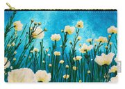 Poppies In The Blue Sky Carry-all Pouch
