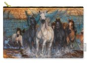 Wild, Wild Horses Carry-all Pouch
