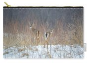 Wild Winter Carry-all Pouch
