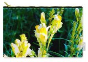Wild Yellow Flowers Carry-all Pouch