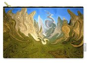 Wild Yosemite - Abstract Modern Art Carry-all Pouch