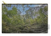 Wildcat Den Cliffs And Trees In Fall Carry-all Pouch