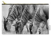 Wildebeest Trio Carry-all Pouch