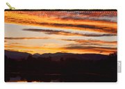 Wildfire Sunset 1v  Carry-all Pouch