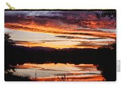 Wildfire Sunset Reflection Image 28 Carry-all Pouch