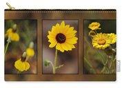 Wildflower 3 Carry-all Pouch by Jill Reger