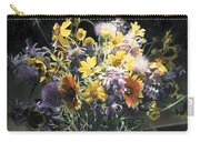 Wildflower Bouquet II Carry-all Pouch
