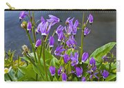 Wildflower Cascade Carry-all Pouch by Mike  Dawson