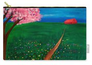 Wildflower Country Road Carry-all Pouch